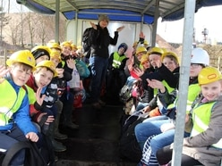 Shropshire youngsters get close to nature with outdoor lessons