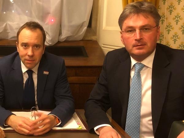 Future Fit: Shrewsbury MP meets Health Secretary to call for change in legislation