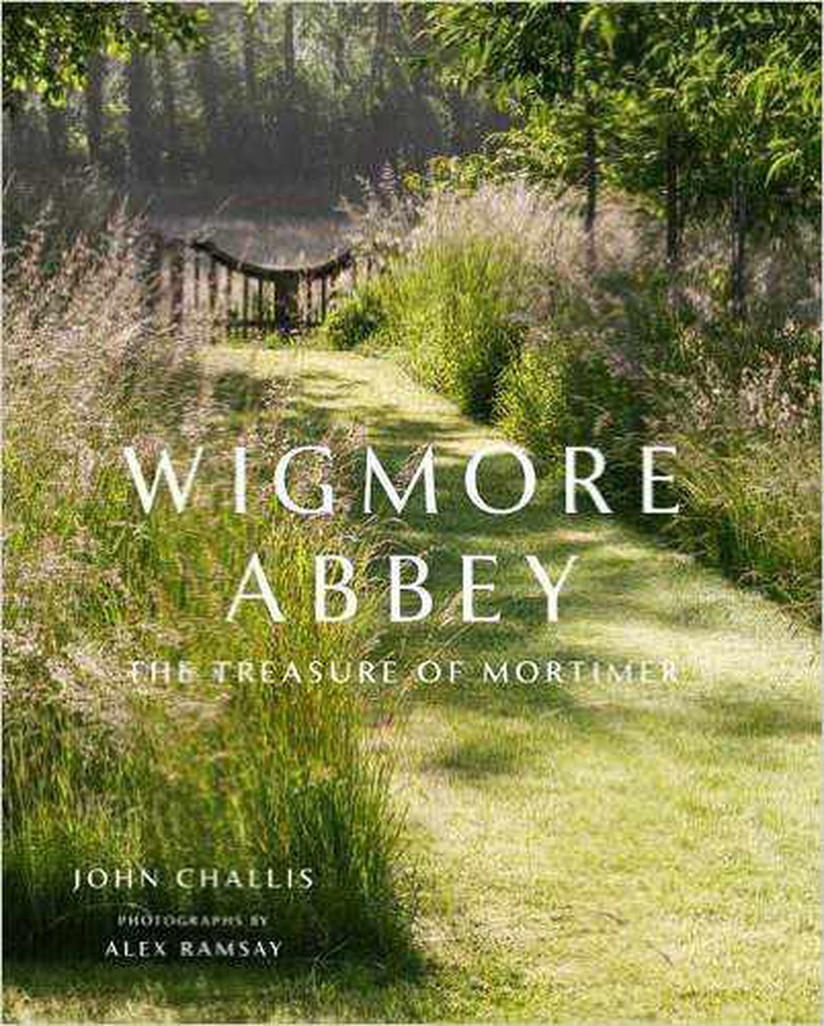 The cover of Mr Challis's new book about his historic home