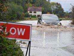 Shropshire roads closed by flooding as weather alerts remain in place - with pictures