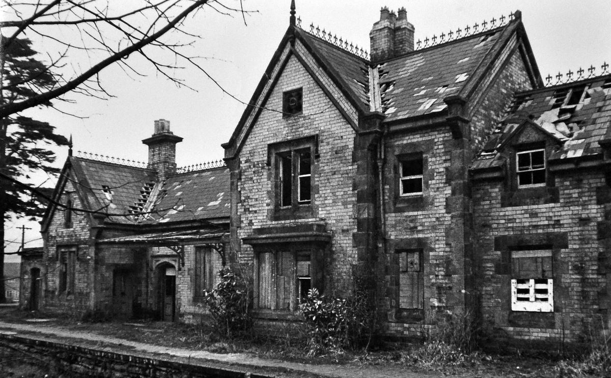 Much Wenlock's railway station fell derelict but happily was restored.