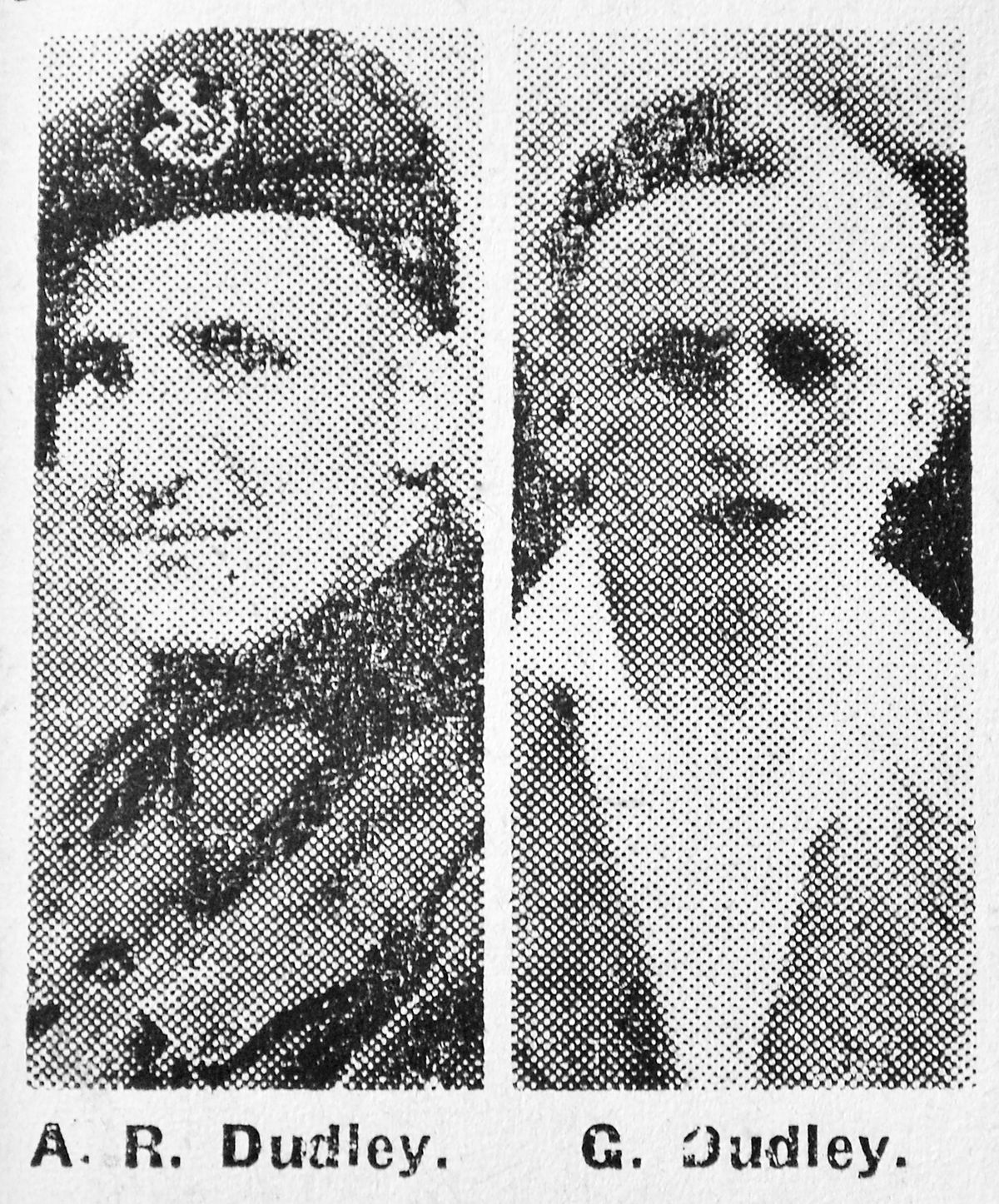 These pictures of the tragic brothers were used in the Bridgnorth Journal after Arthur was killed in 1944.