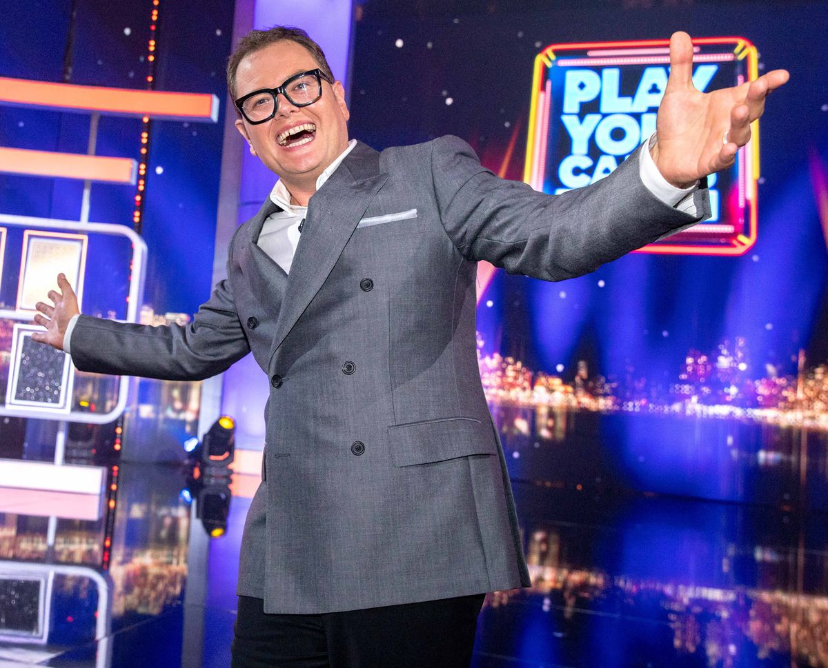 Alan Carr's Epic Gameshow has inspired the idea