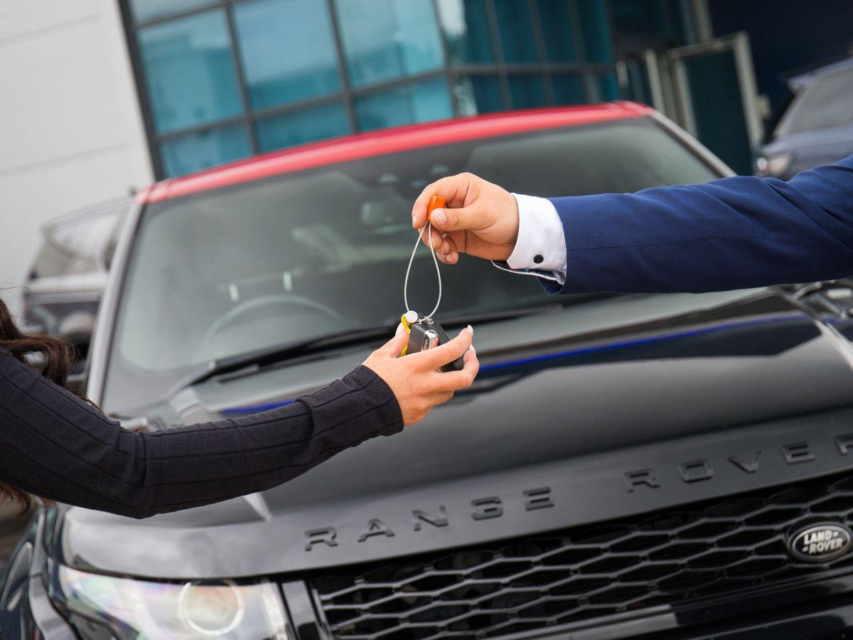 Car Dealer Key Handover