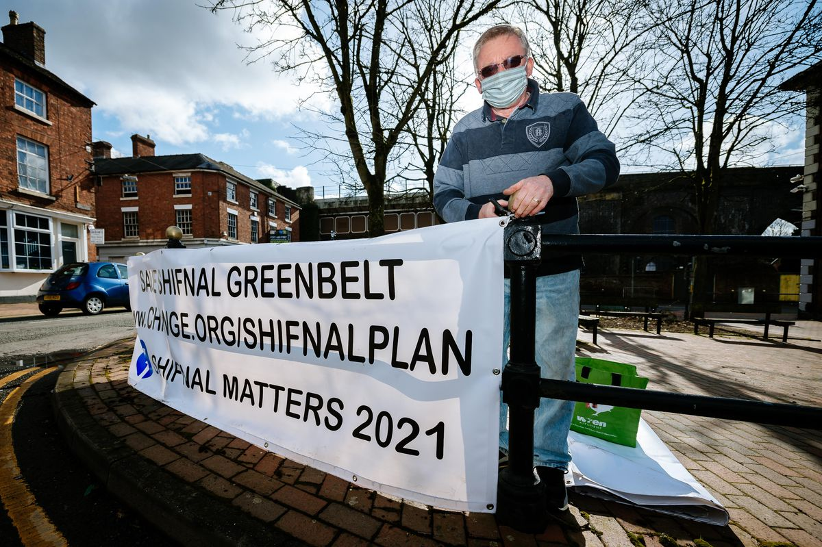 John Moore of Shifnal Matters says the green belt is being treated like a 'takeaway'