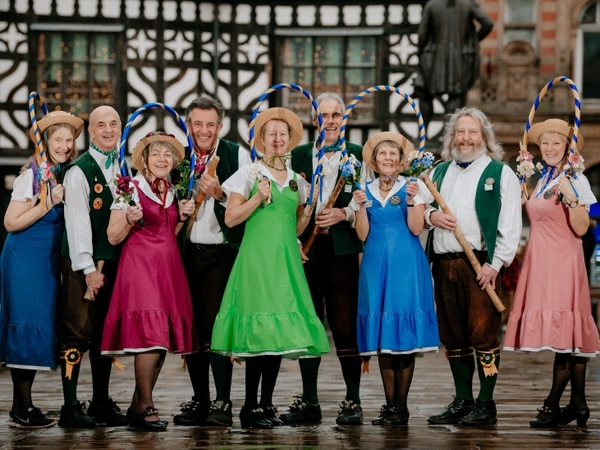 Shrewsbury Morris Dancers in 'join us' call for new year