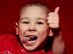 Brave Telford youngster Zac Oliver, 5, who battled with leukaemia given the all-clear