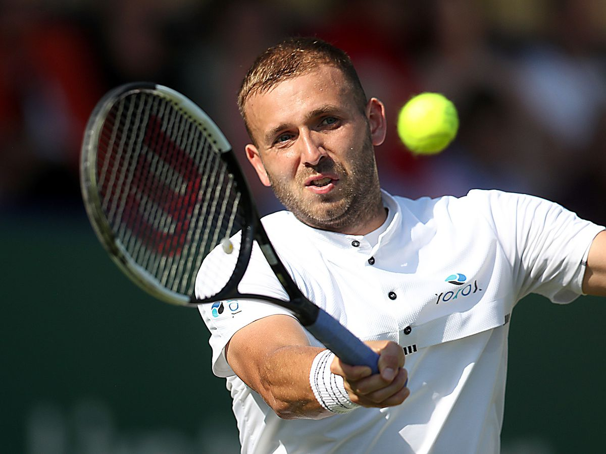 Dan Evans has played himself into form ahead of the Australian Open
