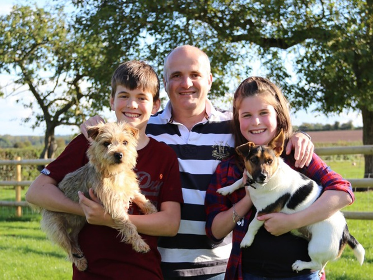 Shropshire dad's campaign to raise £59k