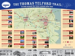 Mapped: Thomas Telford Trail celebrates engineer's less well known Shropshire work