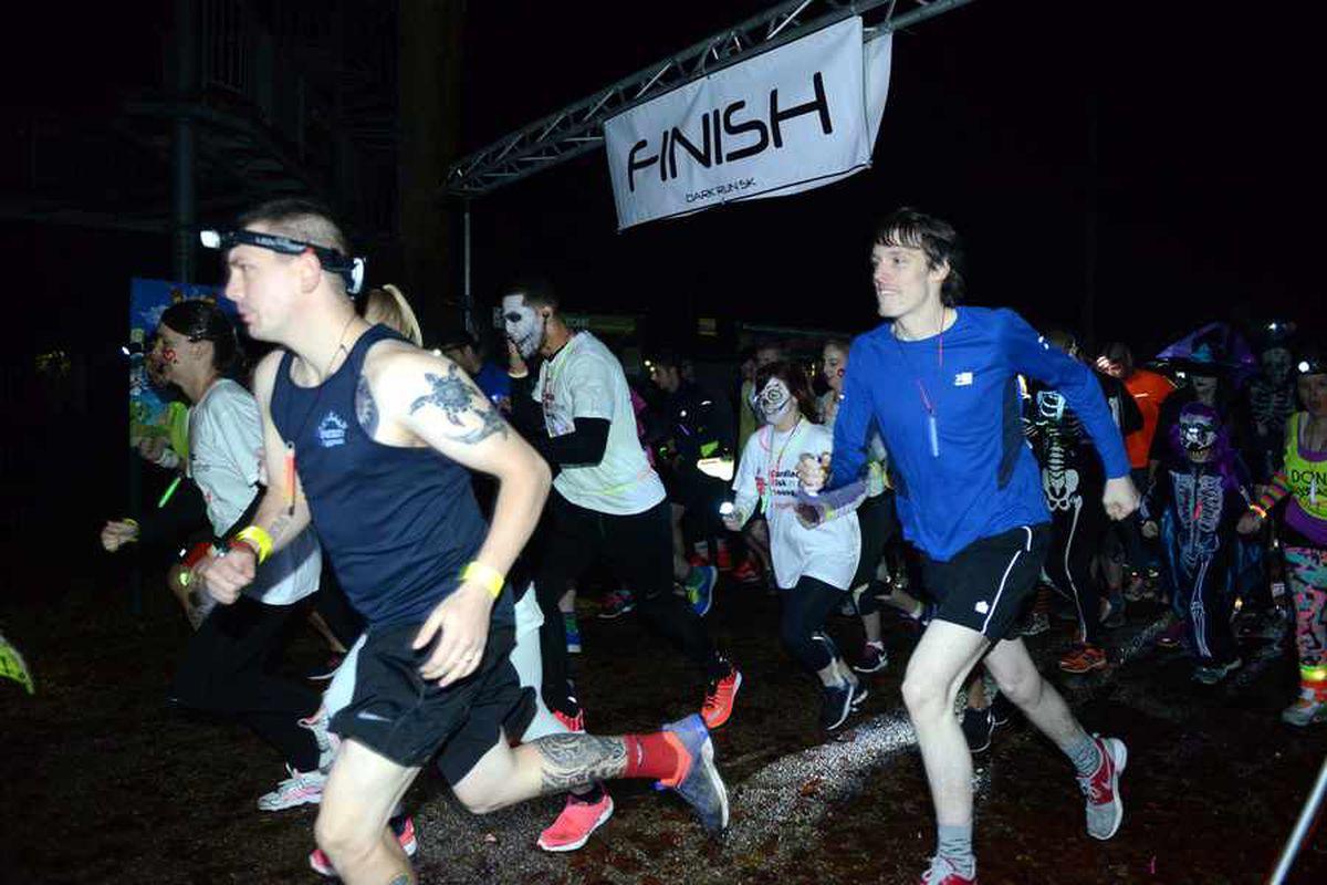 Glow-in-the-dark run heading to Telford