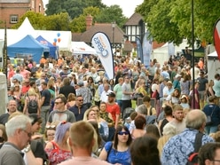 Thousands pack out The Quarry for Shrewsbury Food Festival