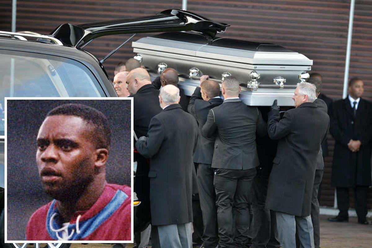 Dalian Atkinson Taser death: Funeral of Aston Villa star held in Telford