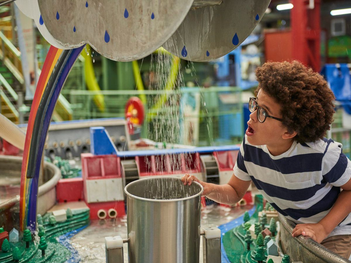 Enginuity encourages visitors to enjoy the fun of science