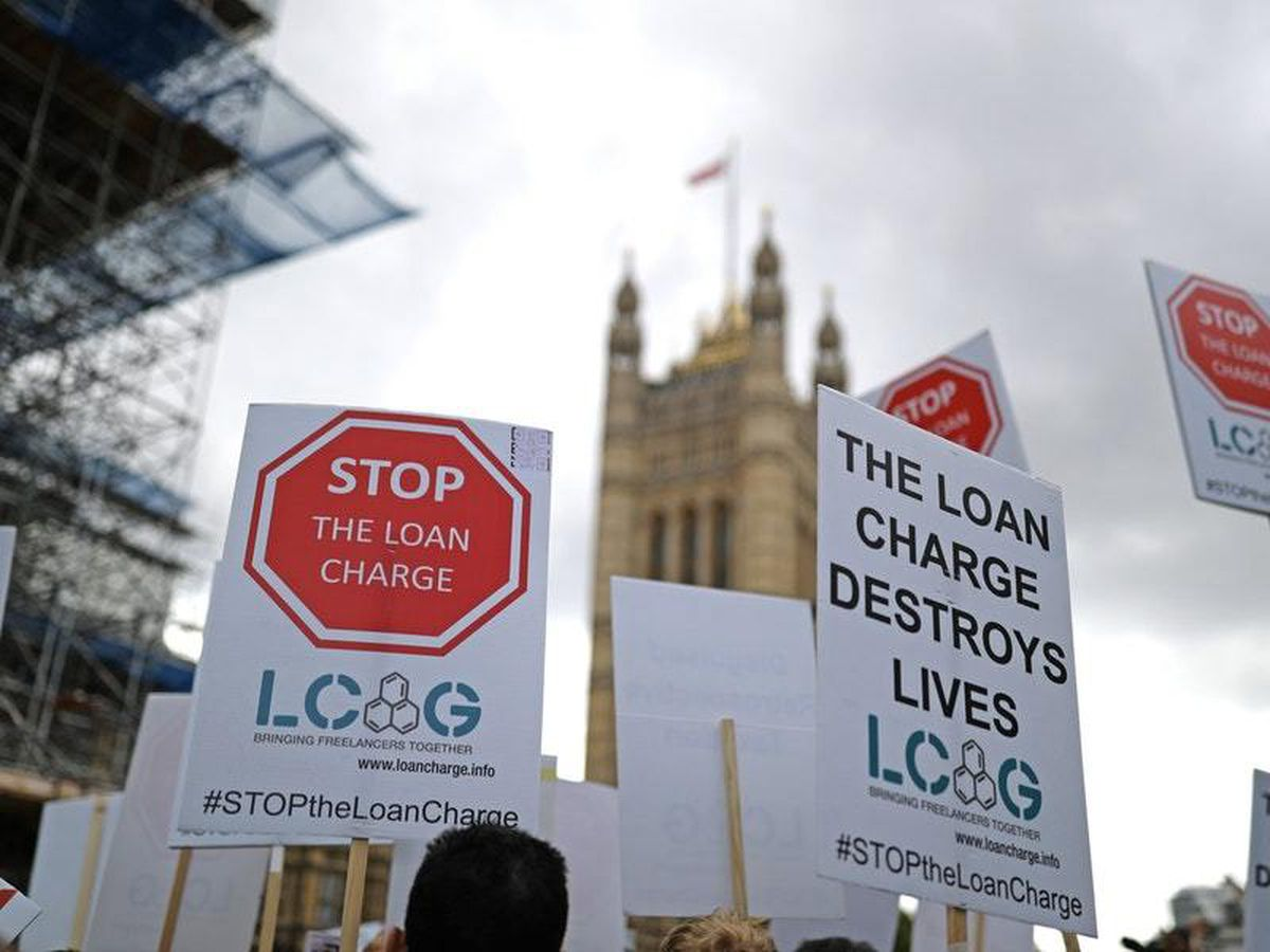 Loan charge protest