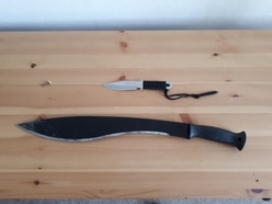 Woman, 22, arrested as drugs and knives found at Whitchurch property