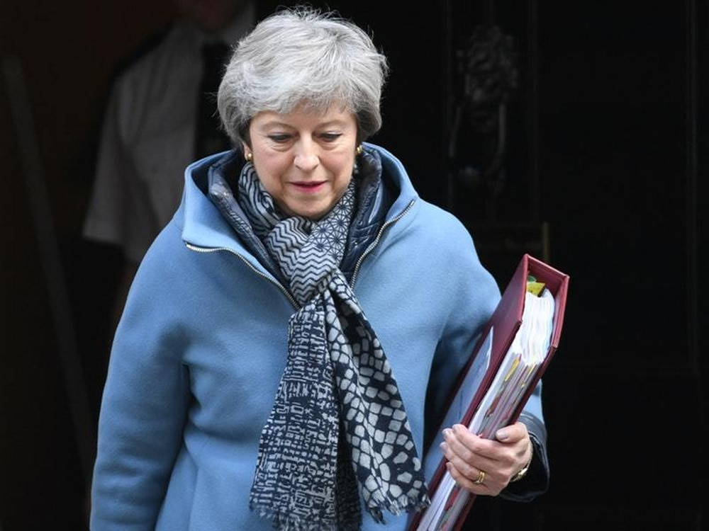 May admits she can't pass Brexit deal without Labour