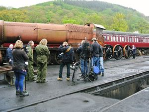 The Hairy Bikers have filmed at the Llangollen Heritage Railway