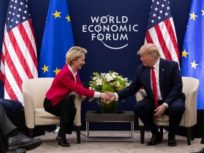 Donald Trump praises EU's Ursula von der Leyen as 'very tough negotiator'