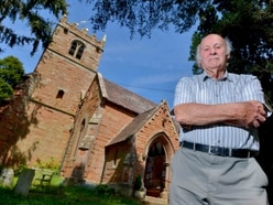 Shropshire church warden steps down after 35 years