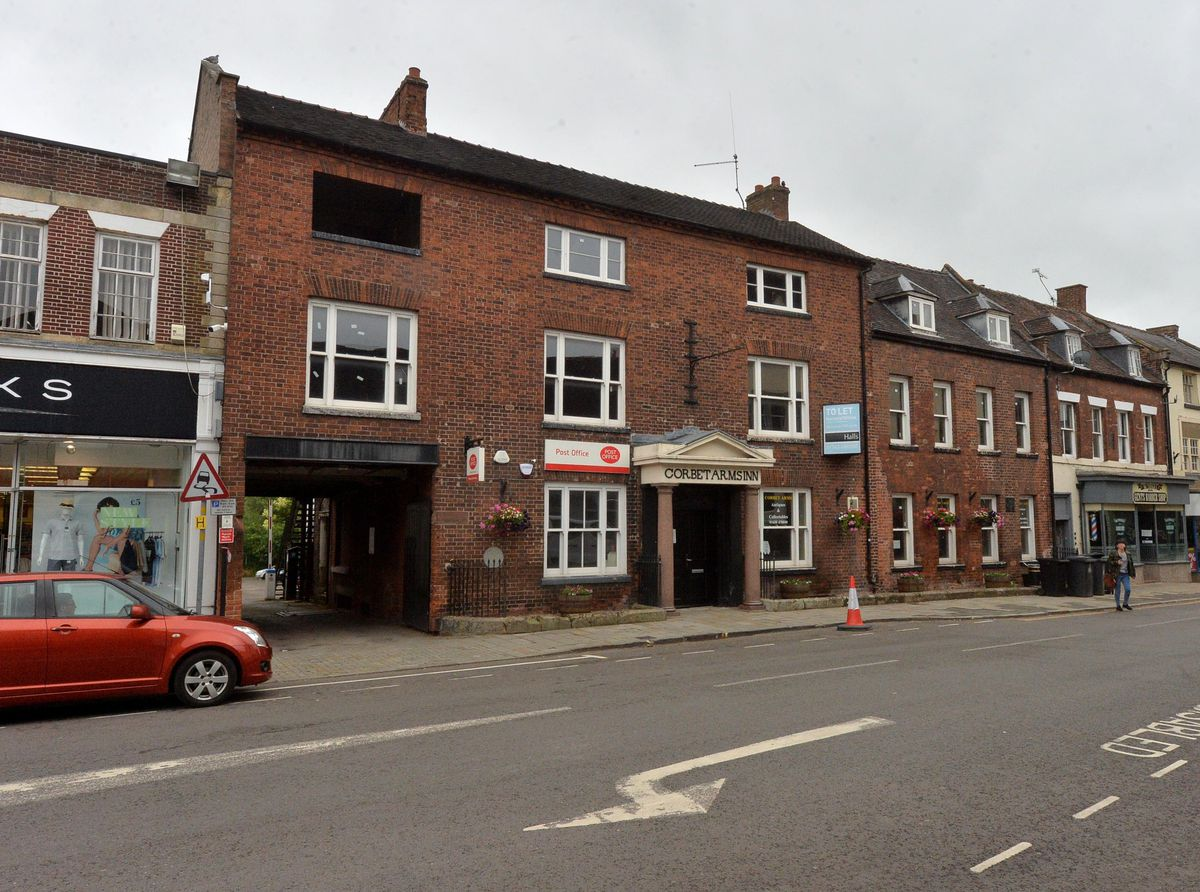 The Corbet Arms in Market Drayton