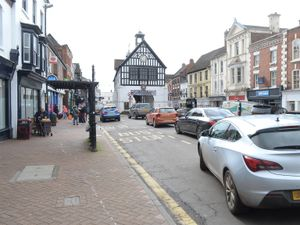 Bridgnorth High Street and Bridgnorth Town Hall