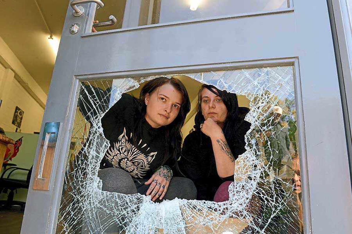 Telford shops blighted by burglars