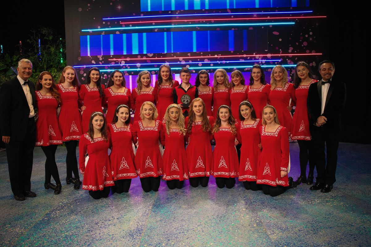 Loughgiel Folk Dancers took the Dance Champions of the World title