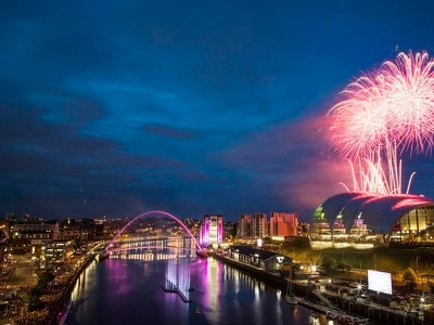 Drones and fireworks launch Great Exhibition Of The North
