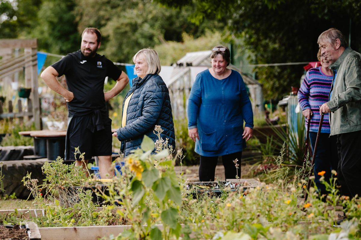 Children at Longlands Community Primary School in Market Drayton have invited local residents into the community to visit their eco-garden and animals