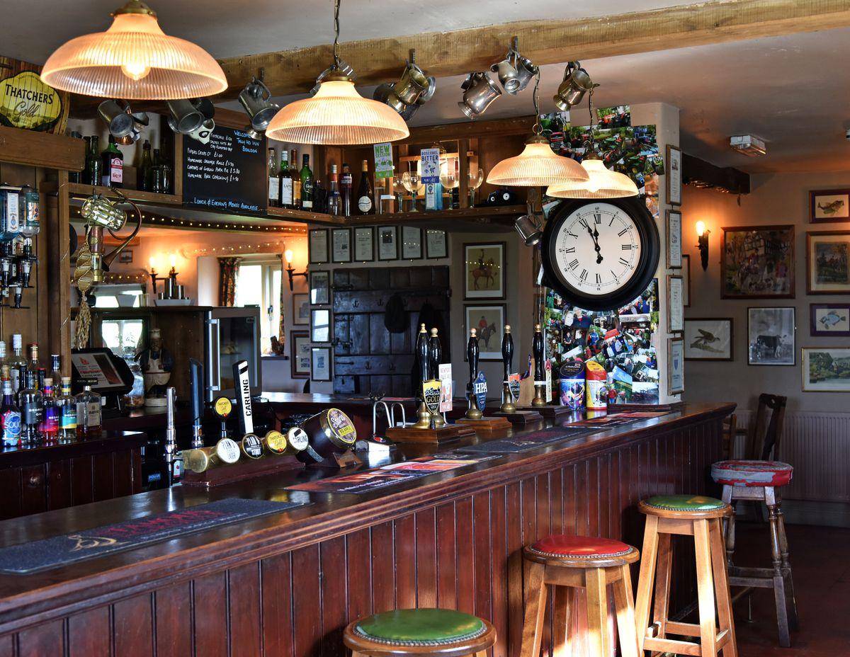 The Tally Ho Inn, Bouldon.