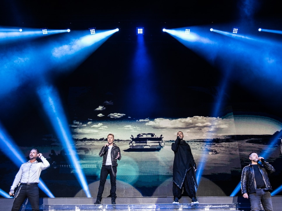 Boyzone bring final tour to Birmingham - in pictures
