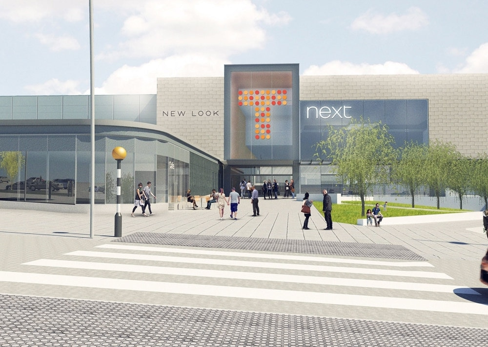Revamp Of Telford Shopping Centre To Continue Town
