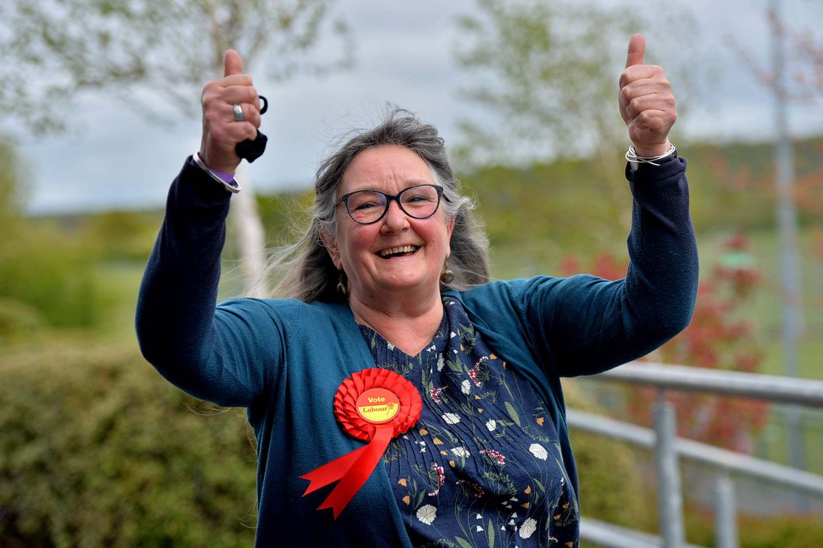 Labour's Caroline Bagnall gained Broseley from the Conservative Simon Harris