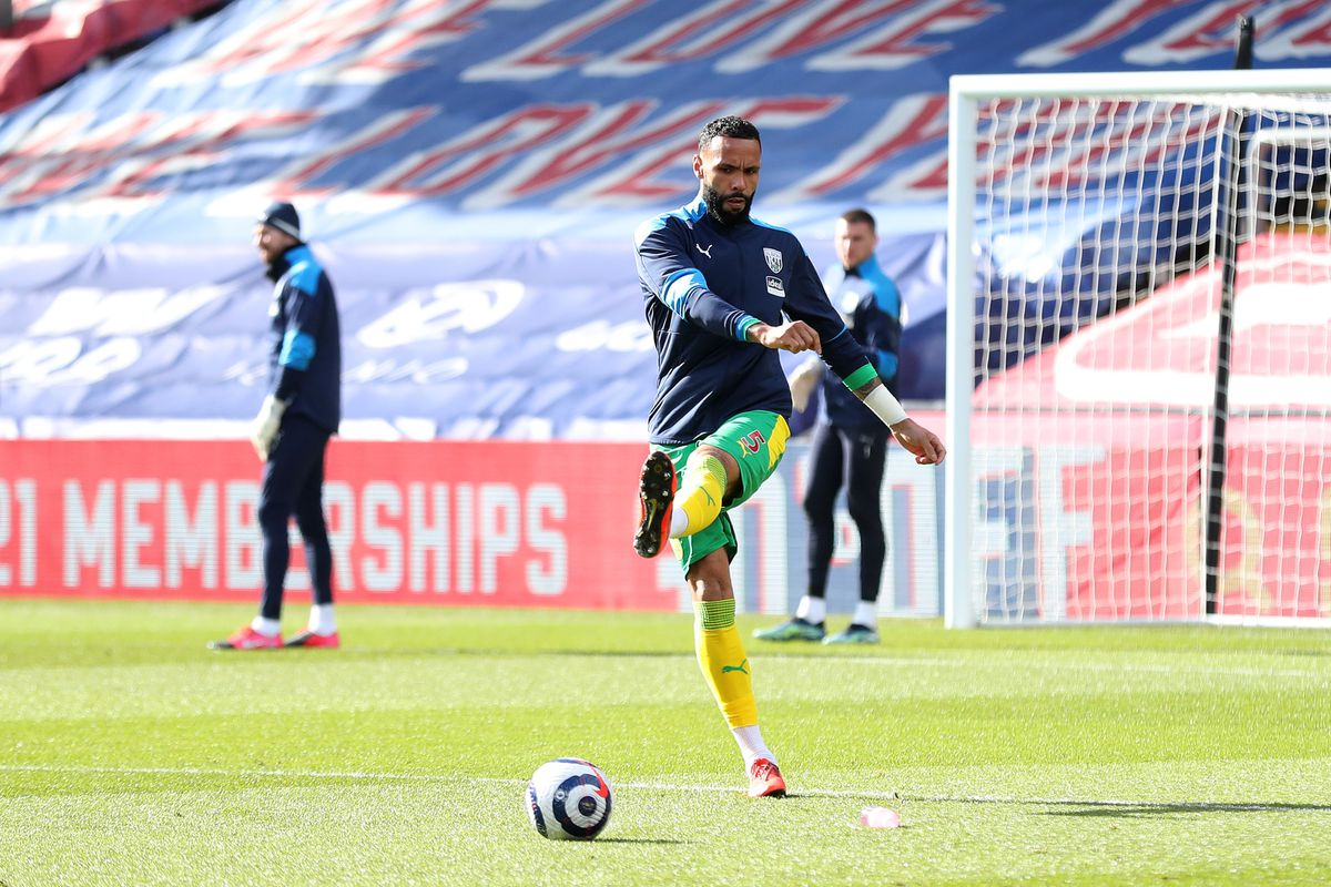 Kyle Bartley of West Bromwich Albion during the pre-match warm up (AMA)