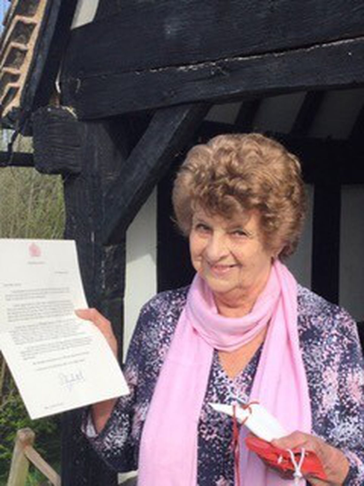 Lynne Lloyd said her 32 years as church warden serving the ancient, timber framed Church of St Peter in Melverley had been a wonderful journey of faith, an education and a joy