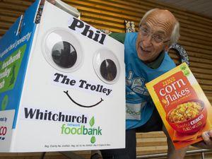Alan Scutt of Whitchurch food bank