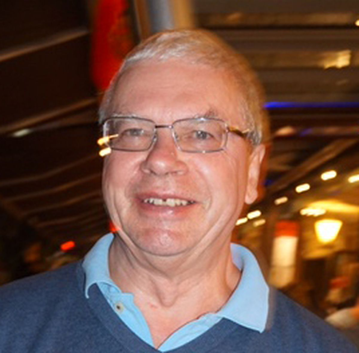 Club chairman Andy Wright