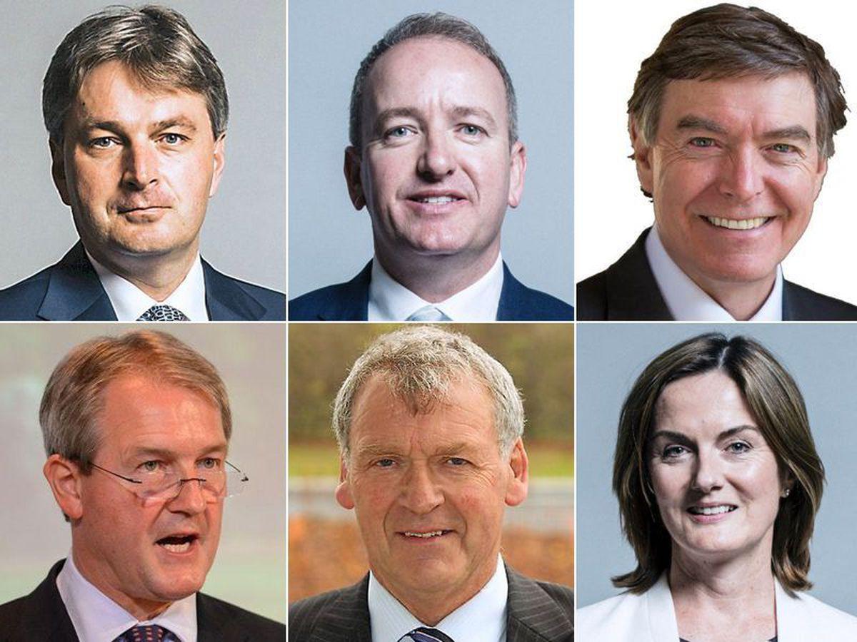 Daniel Kawczynski, Mark Pritchard, Phil Dunne, Owen Paterson, Glyn Davies and Lucy Allan