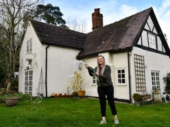 Shropshire farmhouse raffle winner 'in shock' - see pictures of celebration and home
