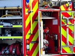 Casualty cut free after car and lorry crash in Shifnal