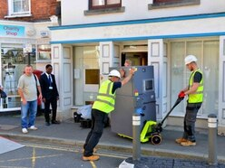 Closure of last bank 'could ruin Much Wenlock' - with video and pictures