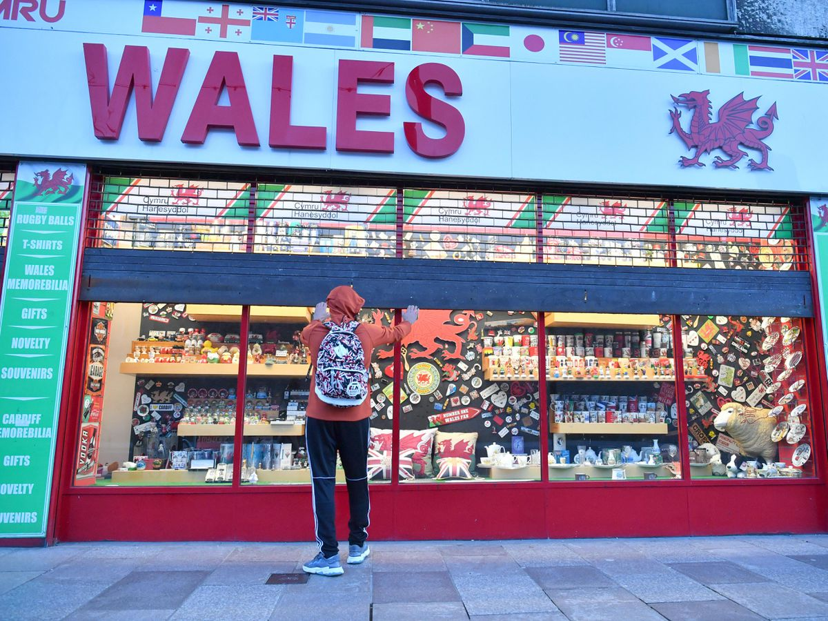 A shop in Wales