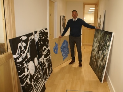 Art students' projects put on show at Shrewsbury centre