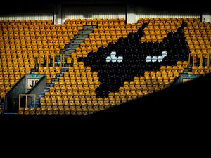 A general internal view of Molineux Stadium, home stadium of Wolverhampton Wanderers.