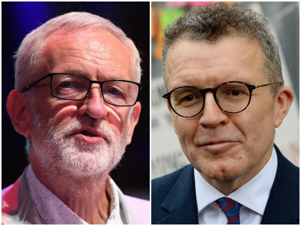 Tom Watson right is at odds with Jeremy Corbyn over Brexit