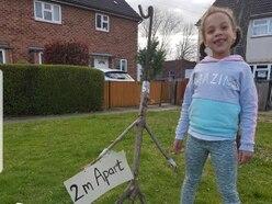 Shrewsbury family spreading togetherness with stickmen campaign during coronavirus lockdown