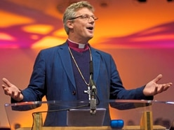 Final service as Bishop of Shrewsbury moves to pastures new
