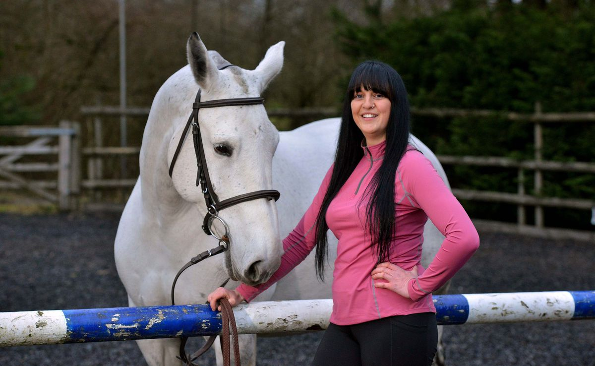 Grace Oakley is planning to ride her horse through Ludlow naked to raise money for charity