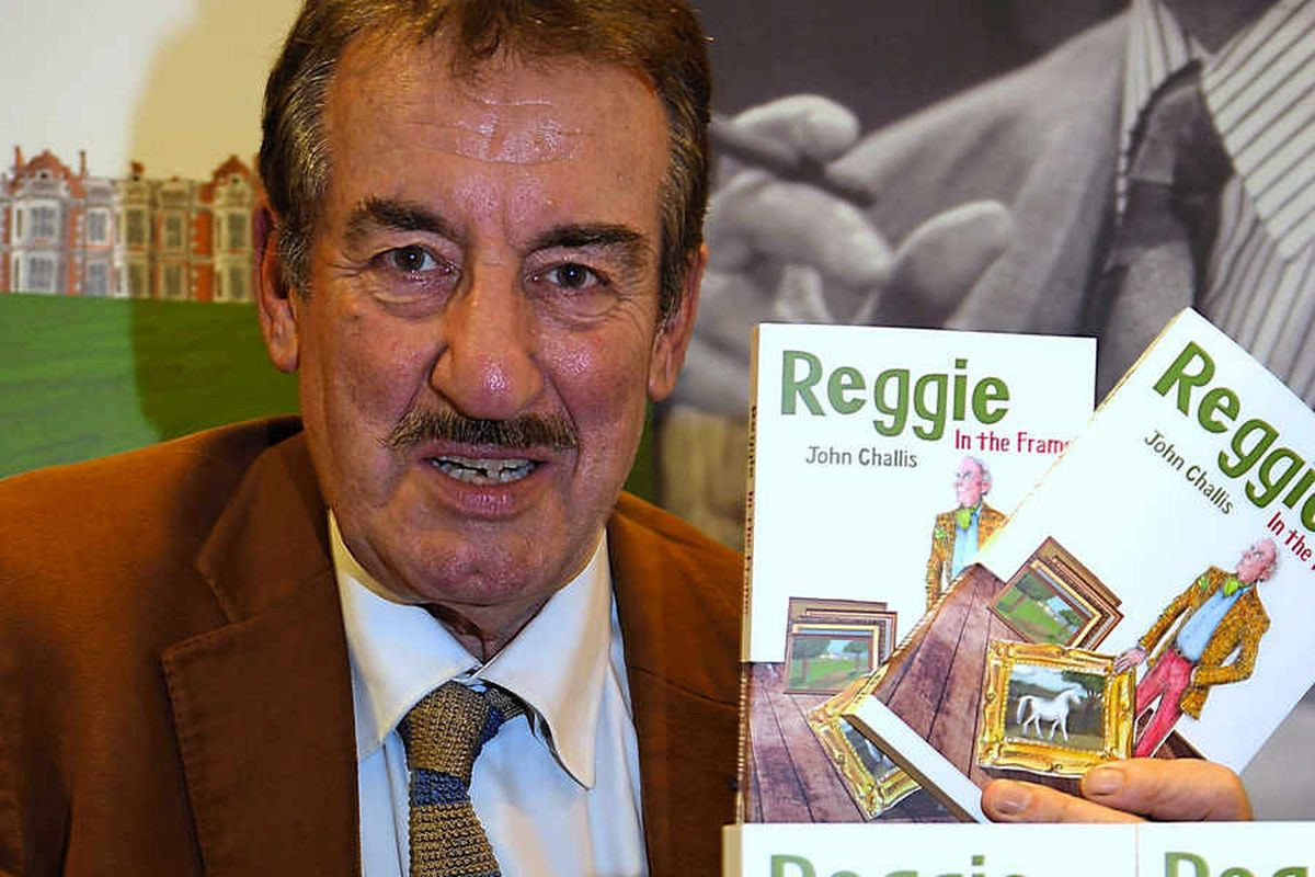 Shropshire characters in the frame in John Challis's new novel